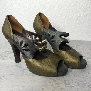 Nanette Lepore Heeled Shoes Size 10